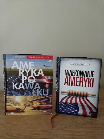 """Książki """"Wałkowanie Ameryki"""" i """"Ameryka po kawałku"""""""