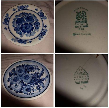Stary piekny porcelanowy komplet