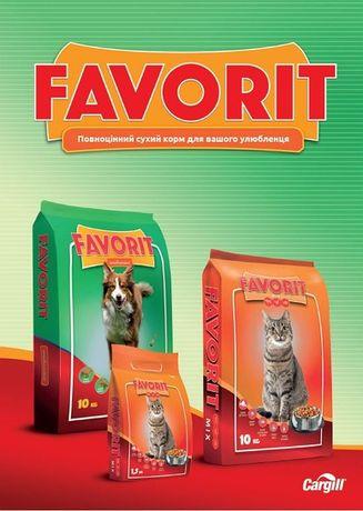 Корм для собак та котів Favorit