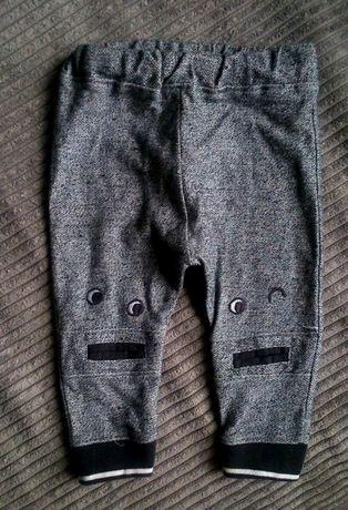 Spodnie dresowe Potworki FF,HM,Nutmeg rozm 74