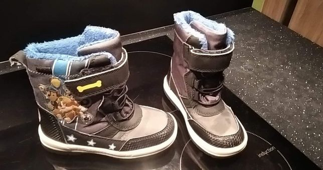 Buty zimowe chłopięce