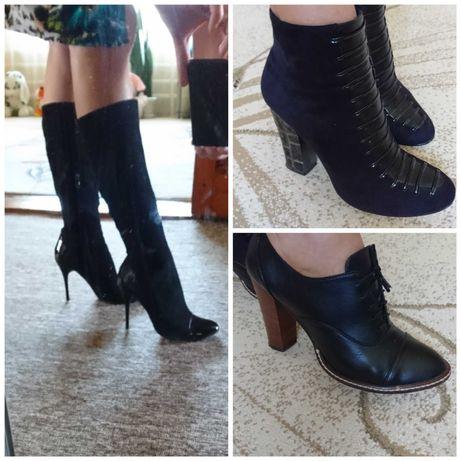 Сапоги туфли 39 размер
