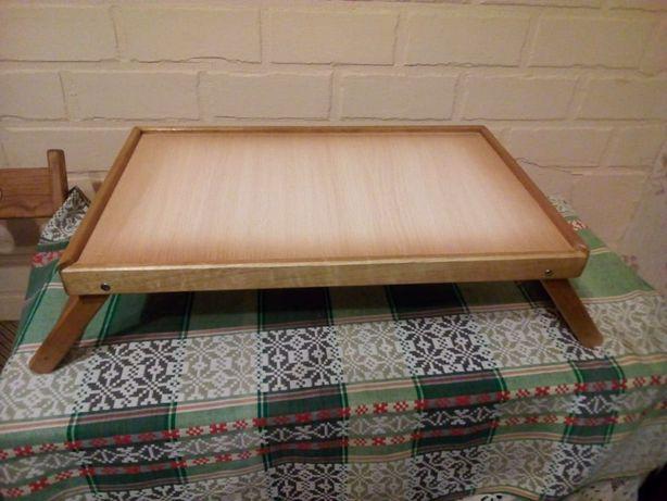 Стол-трансформер для ноутбука (деревянный).