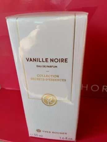 Perfumy Vanille Noire Yves Rocher Secrets dEssences Noir