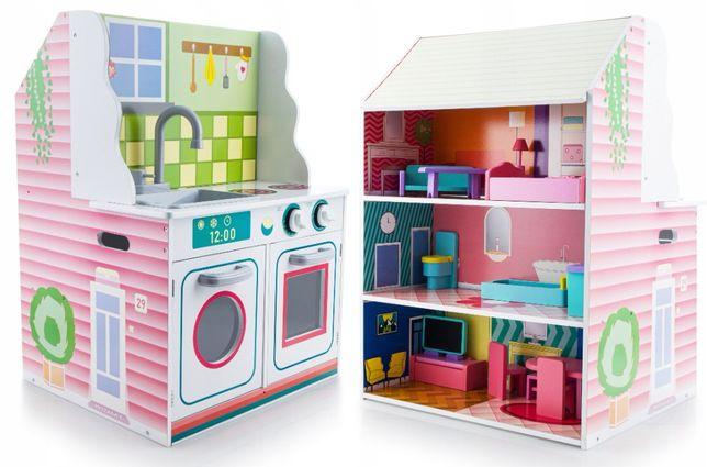 Kuchnia dla dzieci domek dla lalek 2w1