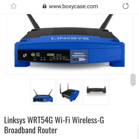 Ruter Linksys wrt54g