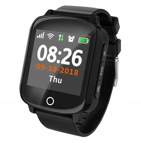 SMARTWATCH D200 zegarek dla seniora GPS