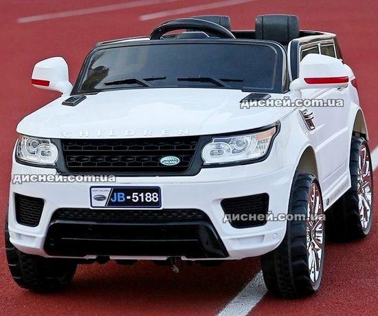 Детский электромобиль M 2775EBLR-1 Land Rover, кожаное сиденье, MP3..