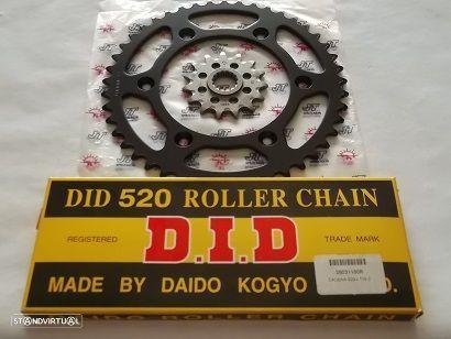 Kit Transmissao corrente DID KTM 250 EXC 250 EXC-F 250 MX 250 MX 250 SX