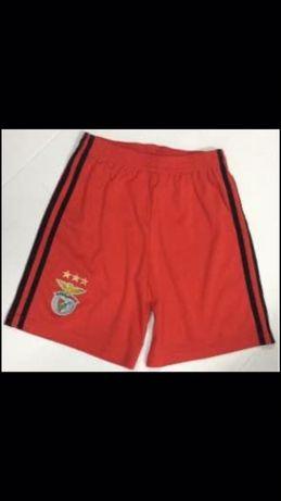 Calção criança Benfica tam 10 anos