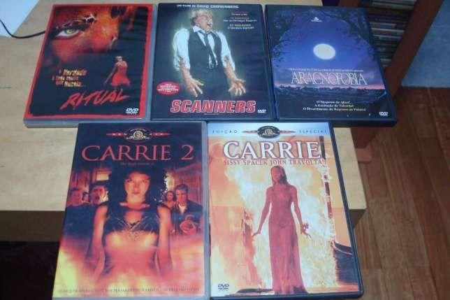 lote 22 filmes terror, ,bugs,anaconda etc