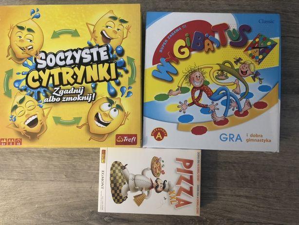 Gry Soczyste cytryny, Pizza XXL, Wygibajtus