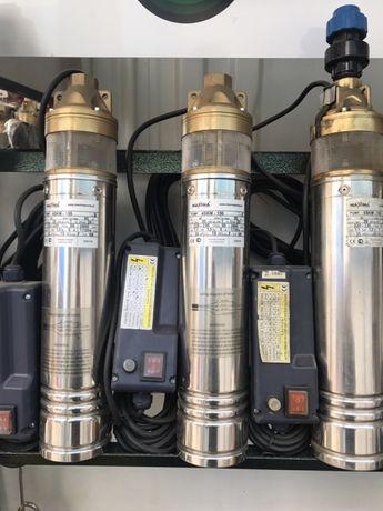 Насос глубинный для полива и орошения 0.75 кВт