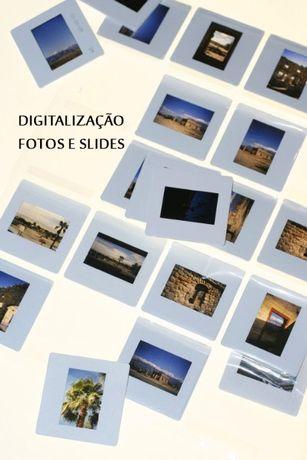 Digitalização de fotos,rolos slides