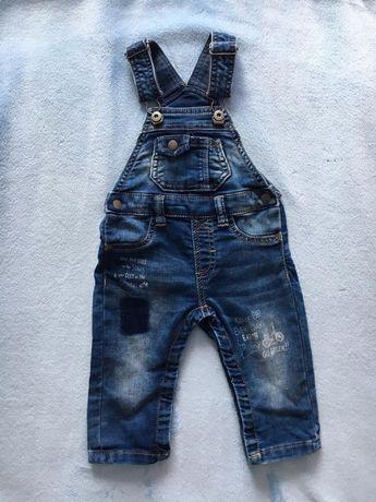 Ogrodniczki jeans mayoral jak nowe rozm 68