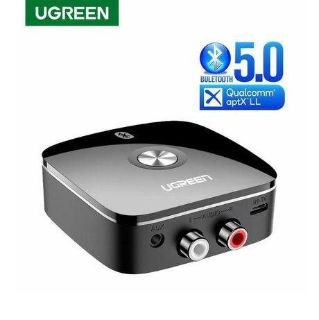 Bluetooth 5.0 адаптер Ugreen aptX LL HI-FI AUX RCA ресивер Гарантия!