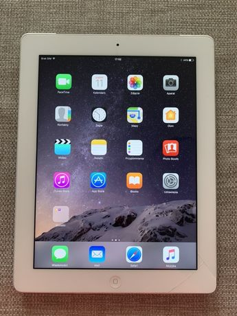 Apple iPad 4 Retina 64Gb Wifi 4G Biały (MD527FD/A)