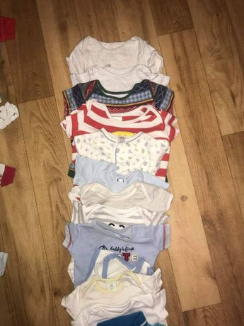 Ubranka dla chłopca 0-6 m-cy