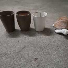 Conjunto 3 vasos 25cm + Tartaruga
