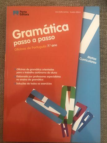 Gramática passo a passo. oficinas de português 7 ano
