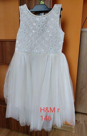 Sukienka h&m r.146