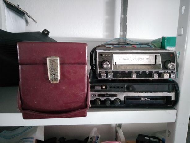 Auto-radios de cartuchos + mala de cartuchos