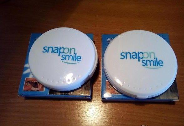 виниры / на зубы - Snap On Smile / съемные (для красивой улыбки) /