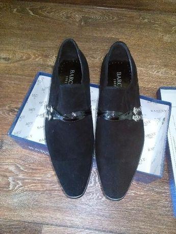 Замшевые туфли BARCLY