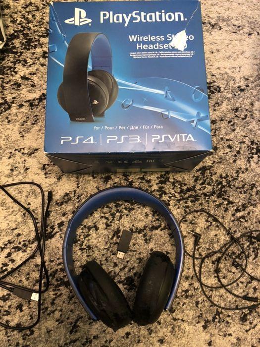 PlayStation 4 słuchawki Wireless Stereo Headset 2.0 Warszawa - image 1