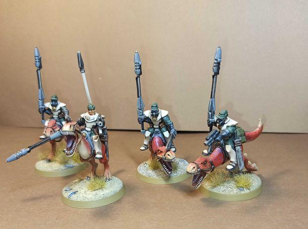 Figurki Warzone Bauhaus Mounted Hussars + Johan Emigholtz