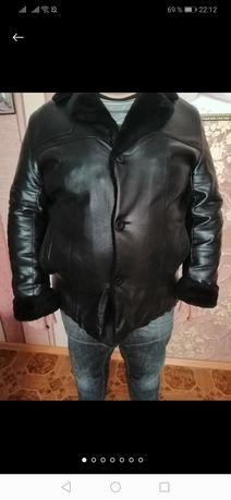 Тёплая куртка на крупного мужчину