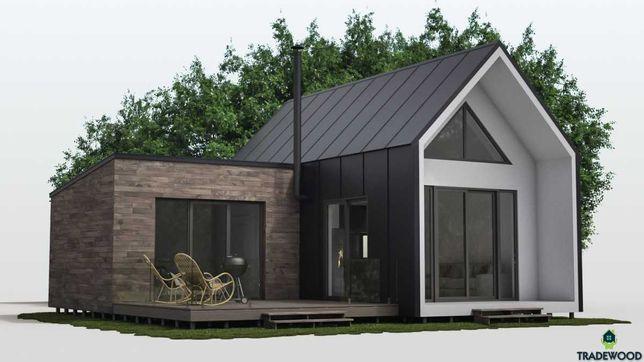 Проект визуализация каркасных домов,барнхаусов,бань