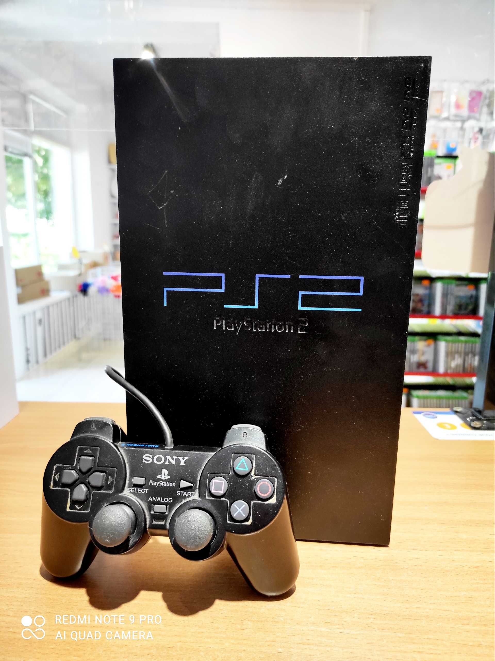 Konsola Ps2, konsola Playstation2 czarna