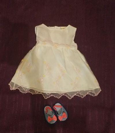 Sukienka dla dziewczynki 74cm