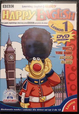 Happy English 1 płyta dvd