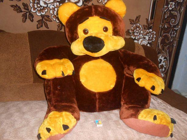 Велика м'яка іграшка Ведмедик
