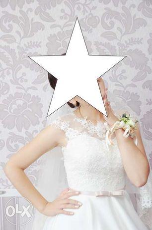 Весільна сукня, кольору айворі з нової колекції Love by Ida Torez