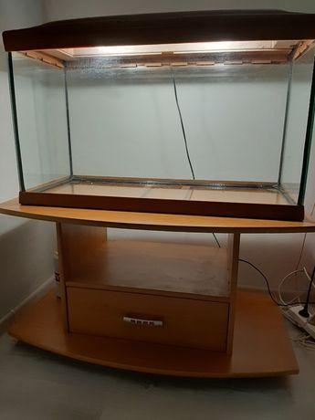 Akwarium 120l w dardzo dobrym stanie