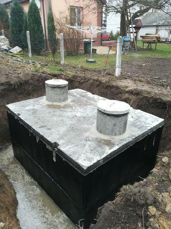 Szambo szamba betonowe 6 8 10 12m3
