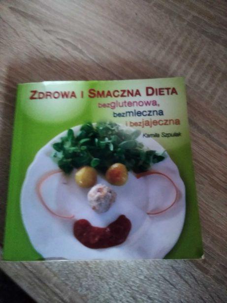 Książka dieta bezglutenowa, bezmle czna i bezjajeczna.