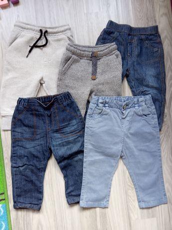 Spodnie spodenki dla chłopca 74-80