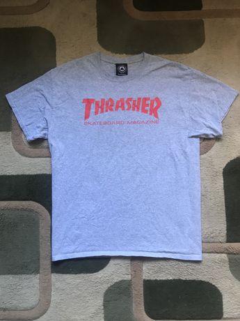 Trasher мужская футболка L оригинал x vans x supreme
