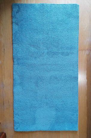 Tapete de quarto azul