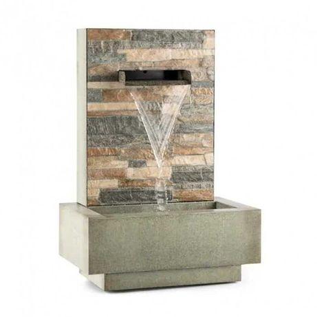 Садовый декоративный фонтан водопад Blumfeldt Watergate для улицы дома