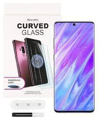 Szkło Pełne Uv  5D Do  Samsung S20 Gratis naklejenie