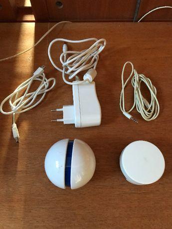 Coluna áudio por vibração I-Ball