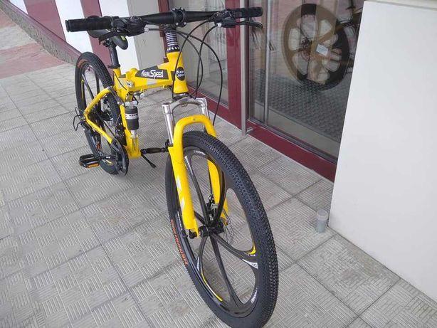 """Горный, складной велосипед New speed, 26"""" колёса, 21 скорость"""