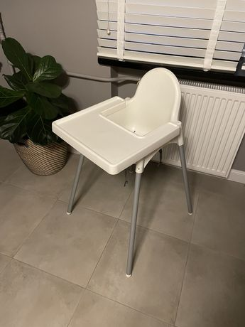 IKEA Antilop Krzesełko do karmienia z tacką