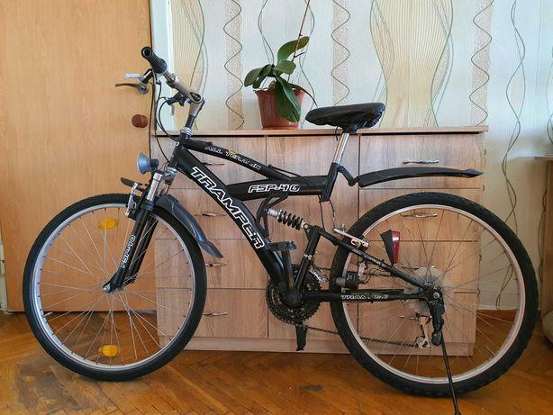 """Велосипед 26"""" Tramper FSP-40, Германия, горный + подарок."""