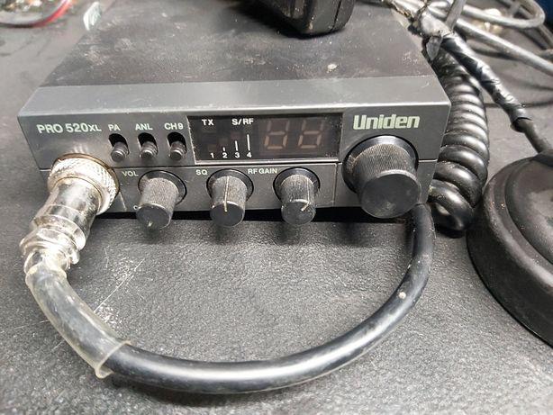 CB radio Uniden PRO 520xl + Antena President michigan